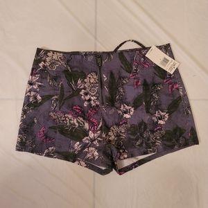 Fox High Waisted Shorts Size 7